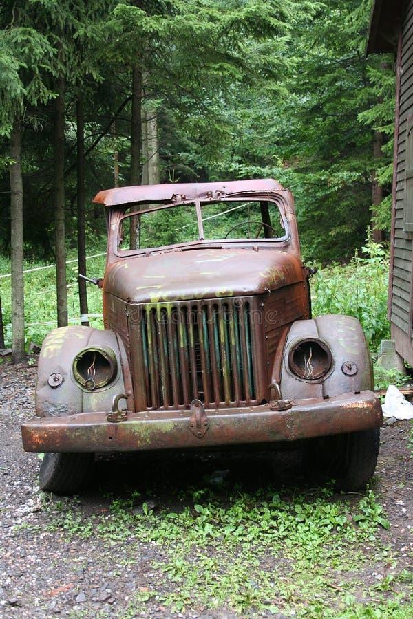 militarna stara ciężarówka obraz royalty free