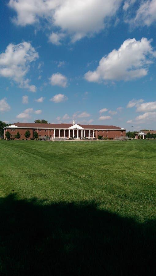 Militarna szkoła Kansas zdjęcia stock