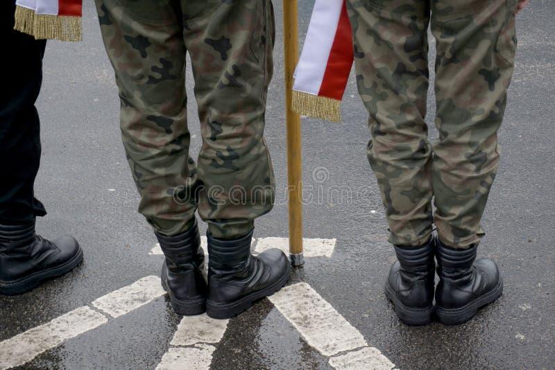 Militarny przegląd obraz stock
