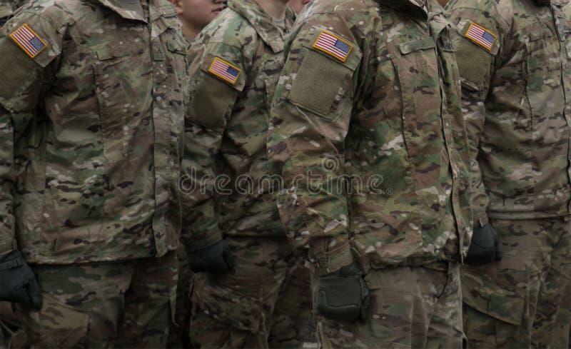 Militarny przegląd obrazy stock