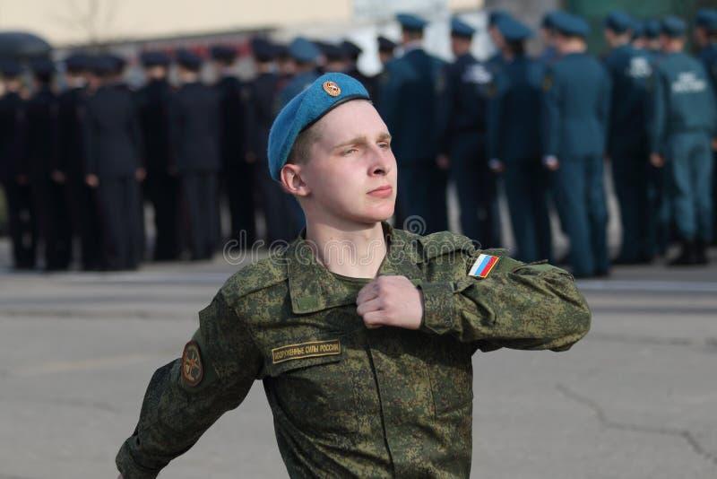 militarny rosjanin obraz stock