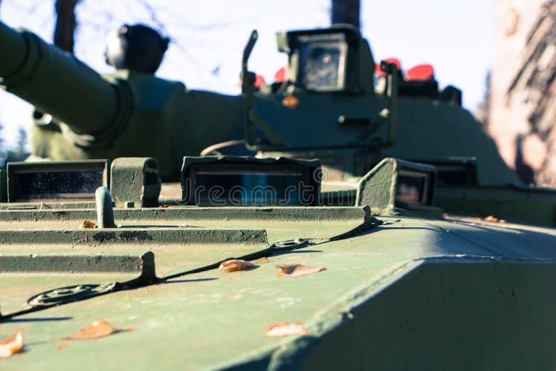 Militarny zbiornik fotografia stock