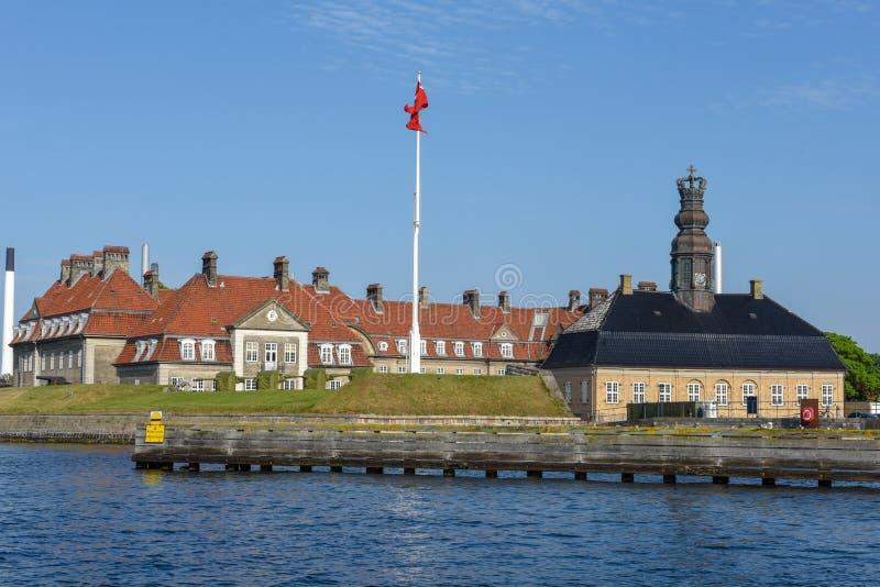 Military Academy at Copenhagen in Denmark royalty free stock image