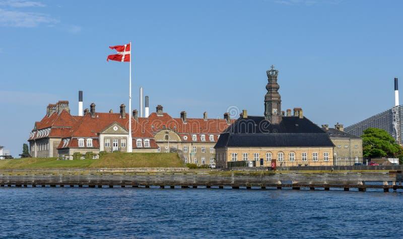 Military Academy at Copenhagen in Denmark royalty free stock photo