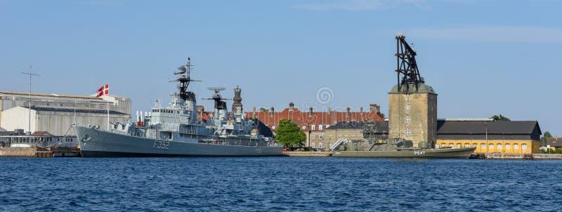 Military Academy at Copenhagen in Denmark stock photos