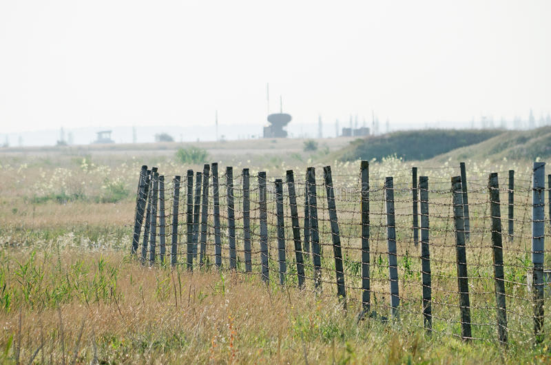 Military airfield in the Crimea. Military airfield in the Kirovskoe, Crimea, Russian royalty free stock photos