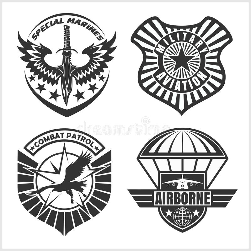 Military Patch Stock Illustrations – 1,496 Military Patch