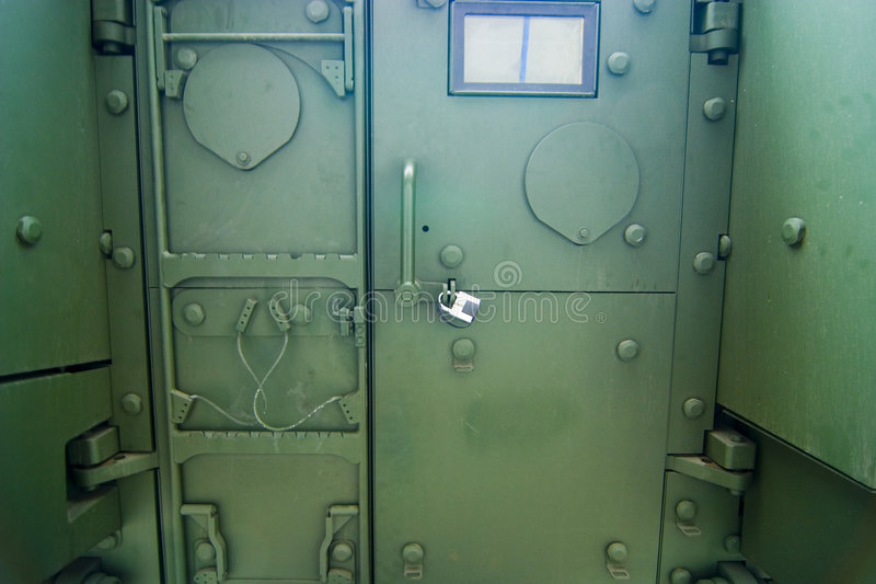Download Military Armed Vehicle Door Stock Image - Image: 3774311
