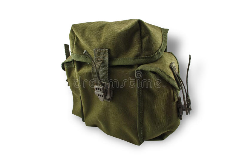 Download Military bag Mil-Tek stock photo. Image of isolated, martial - 12687360