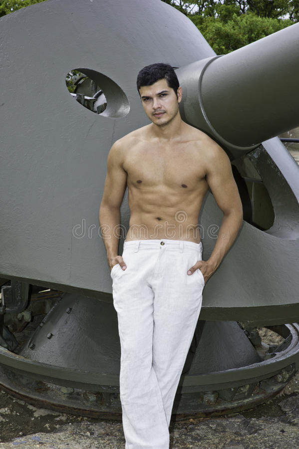 Download On the military base stock image. Image of naked, attitude - 26742537