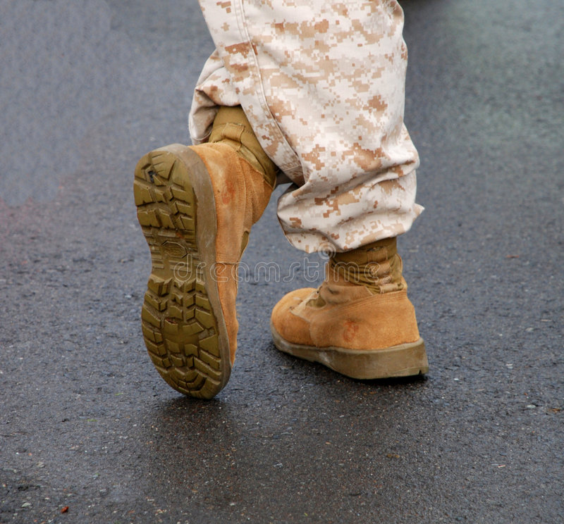 Free Military Boots Stock Photo - 4920540