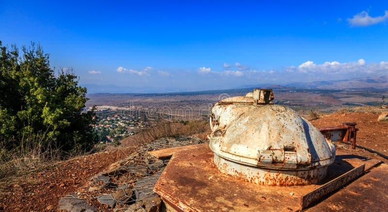 Download Military Bunker On Mount Bental Stock Photo - Image: 37514208