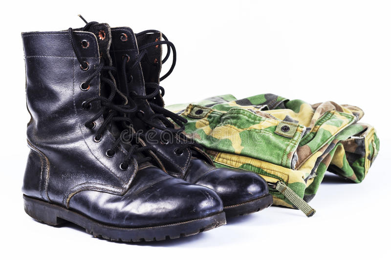 Download Military Camouflage Uniforms Stock Photo - Image: 25682682
