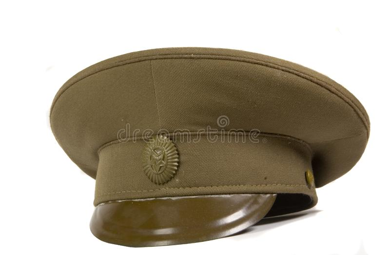 Download Military cap stock image. Image of isolated, rank, uniform - 6473045