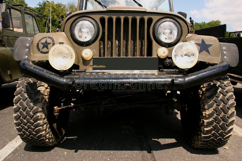 Military car 3 royalty free stock images