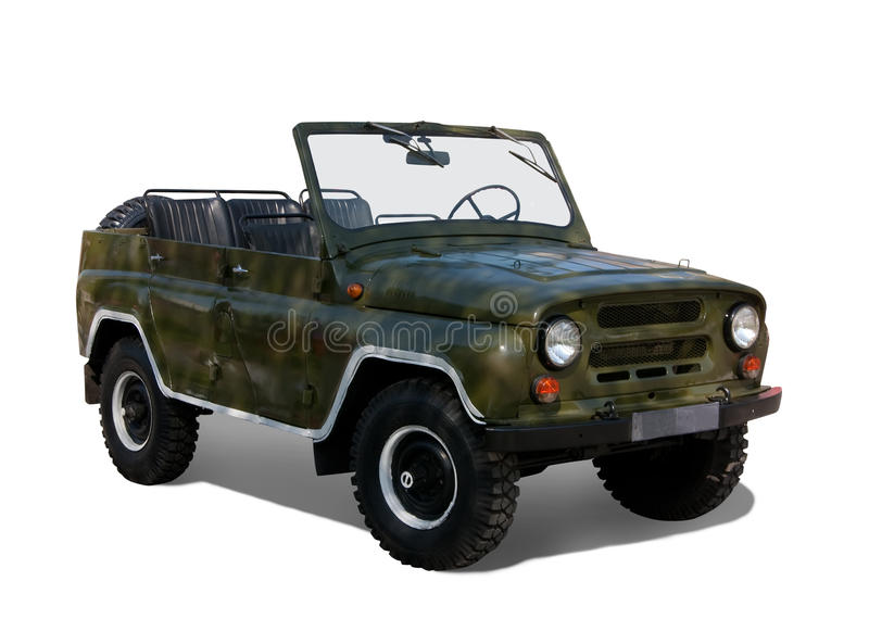 Download Military  car stock illustration. Image of retro, offroader - 9569077