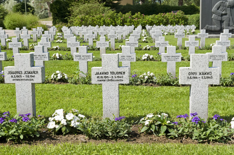 Download Military cemetery editorial image. Image of grief, headstone - 20714760