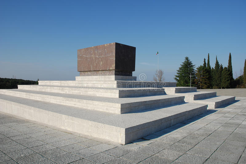 Download Military Cemetery In Friuli Stock Image - Image: 12485319