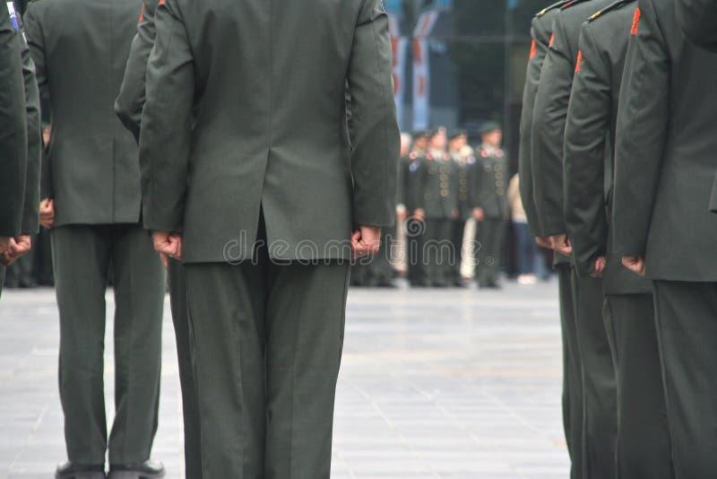 Military Ceremony Stock Image