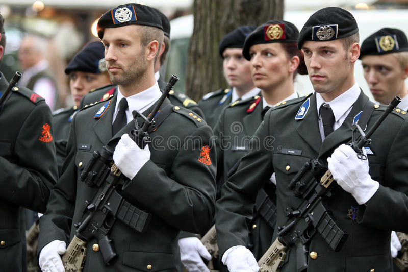 Download Military Ceremony - The Netherlands Editorial Photography - Image: 26638757