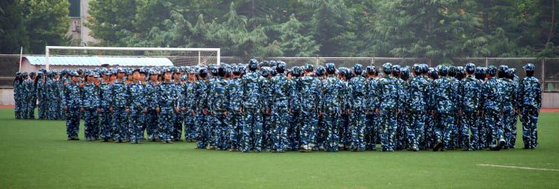 Military Drill Editorial Photo