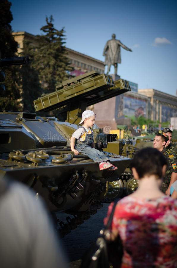 Military Exhibition Editorial Stock Image