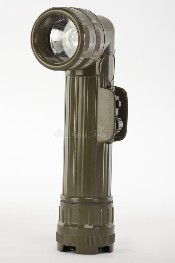 Military Flashlight Royalty Free Stock Photography