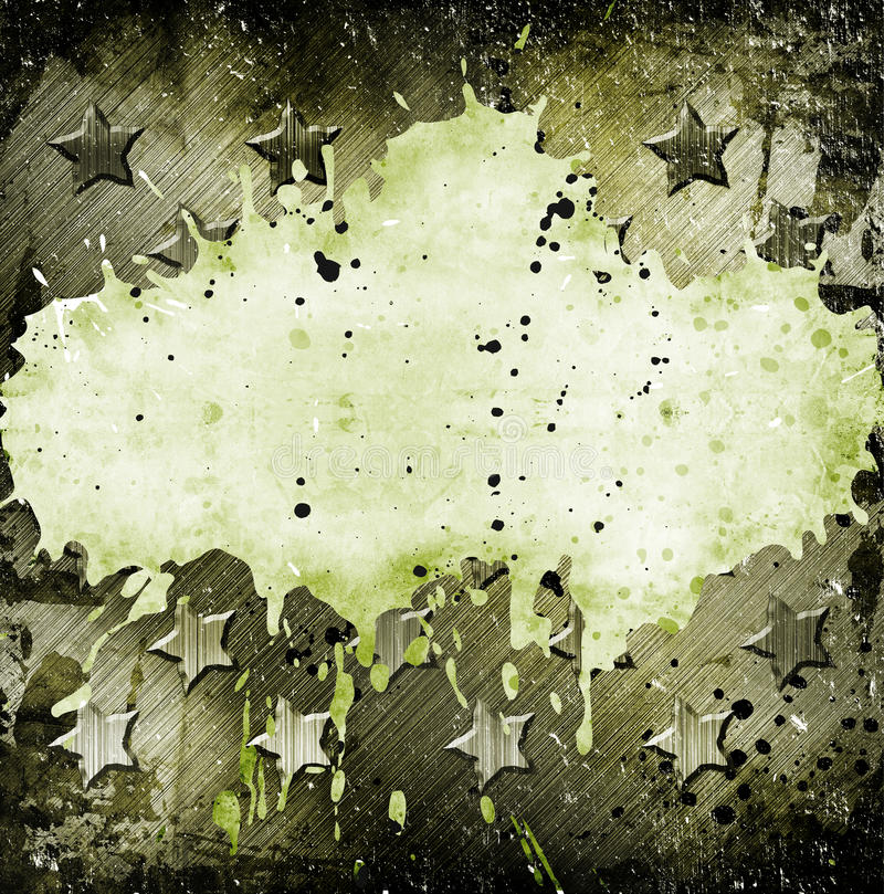 Download Military Grunge With Stars Stock Image - Image: 25536401
