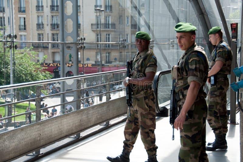 Download Military Guards In Gare De L'Est In Paris. Editorial Stock Image - Image: 16057074