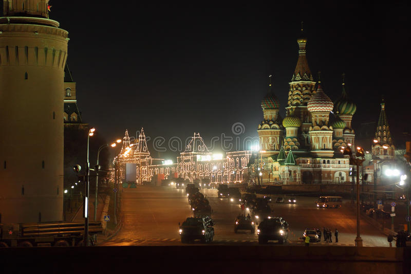 Download Military Hardware On Red Square Editorial Stock Photo - Image: 23996793