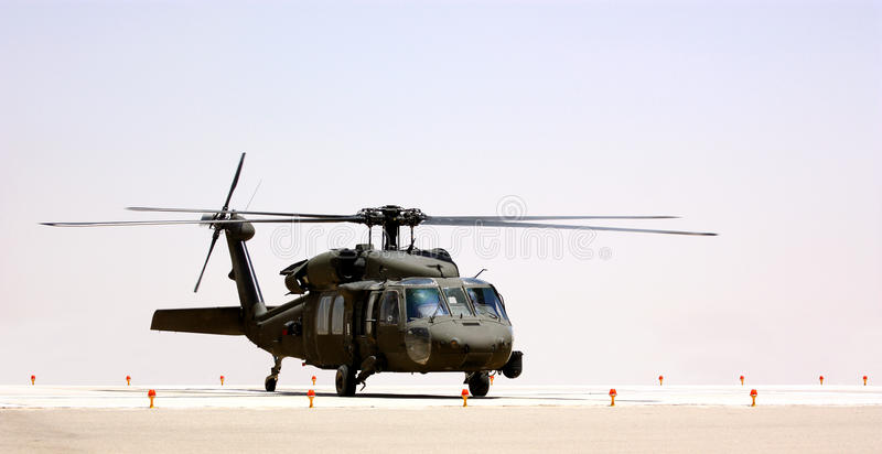 A military helicopter stock images