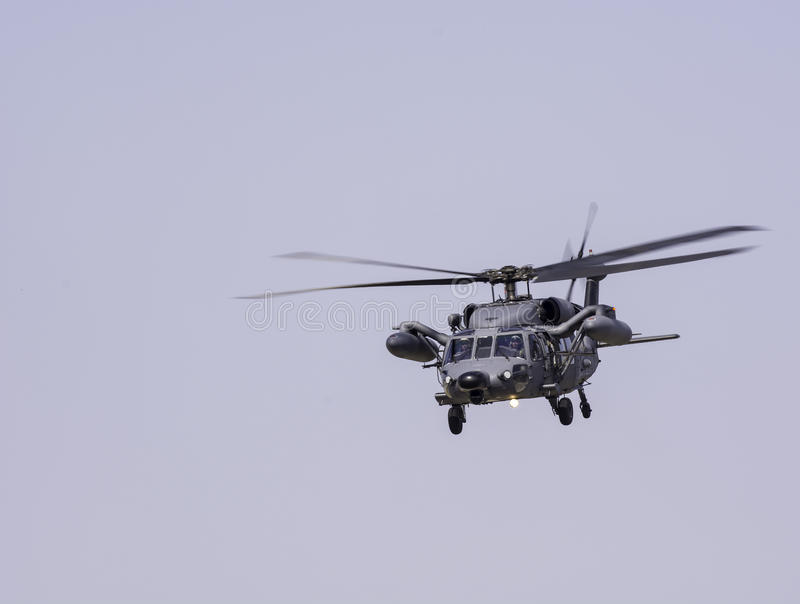 Military Helicopter HH-60 stock photography