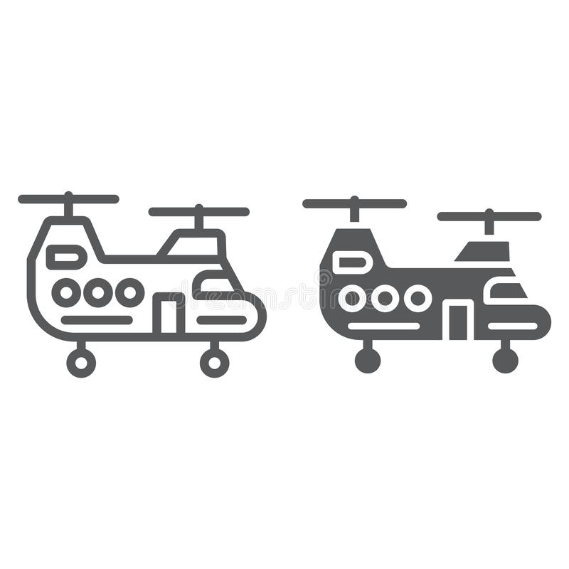 Helicopter Line Art Stock Illustrations – 717 Helicopter