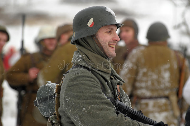 Download Military Historical Reconstruction Of World War II Editorial Photo - Image: 23371111