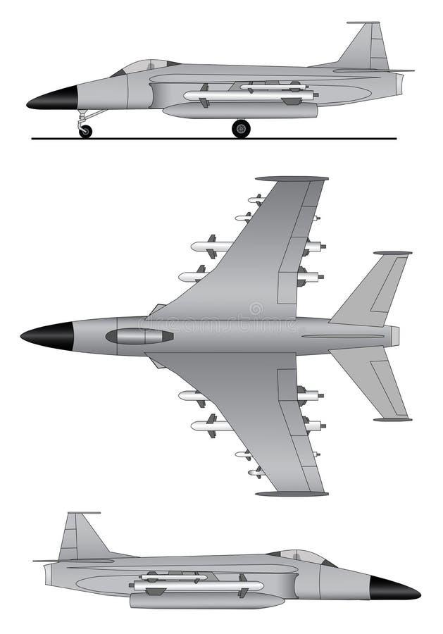 Military jet plane stock vector illustration of weapon 85640577 download military jet plane stock vector illustration of weapon 85640577 malvernweather Choice Image