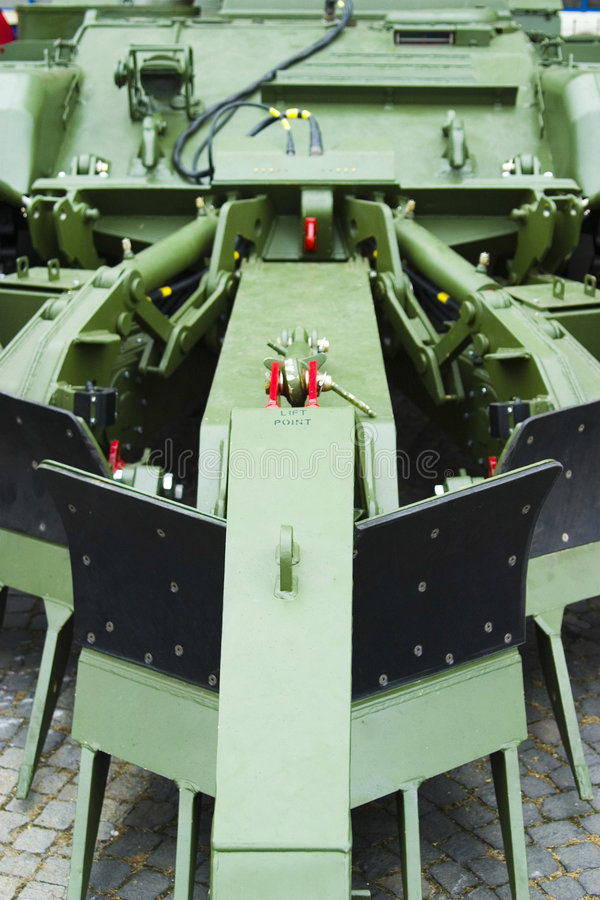 Download Military Mine Clearer Plough Stock Photo - Image: 3774266