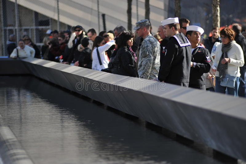 Military at the National September 11 Memorial
