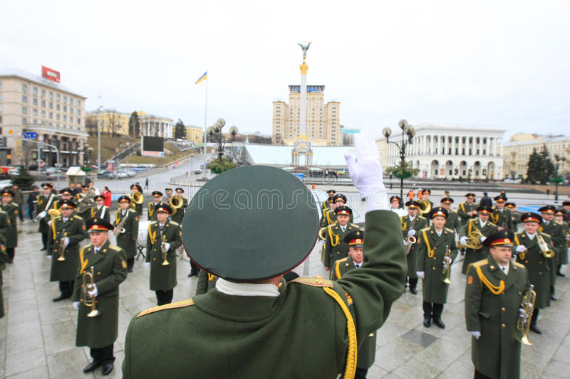 Download Military orchestra editorial image. Image of russian - 13091120
