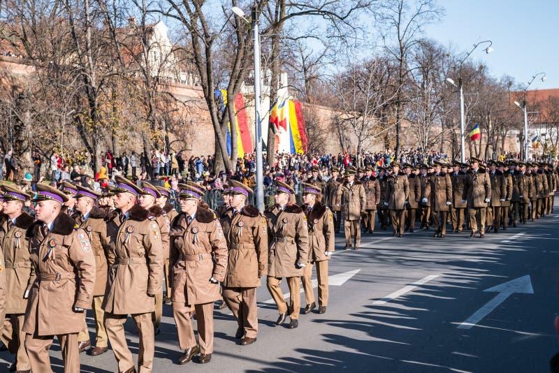 Military Parade on National Day of Romania stock photos