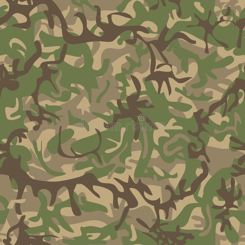 Military Pattern Stock Photography