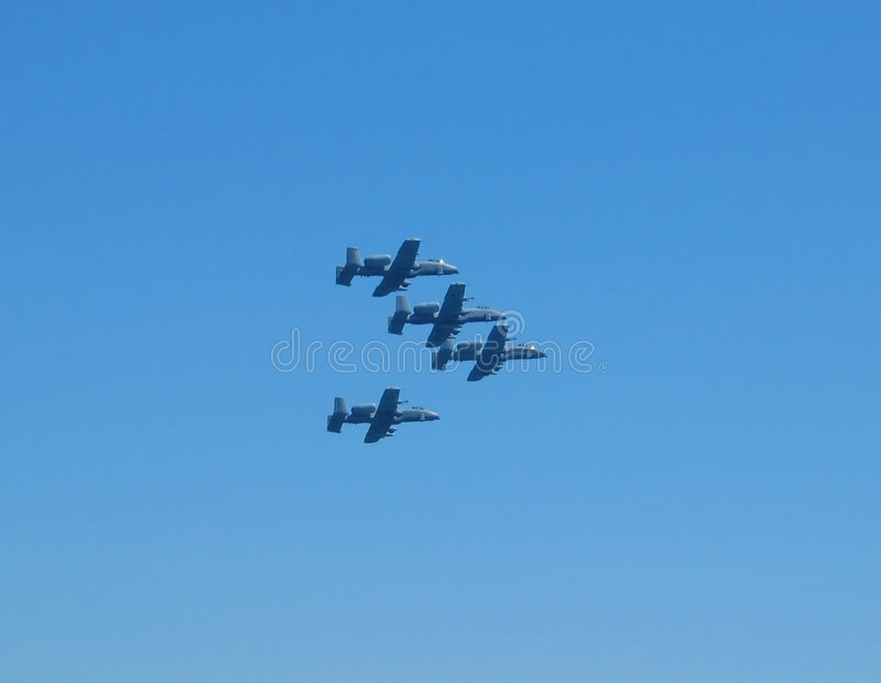 Military planes royalty free stock photos