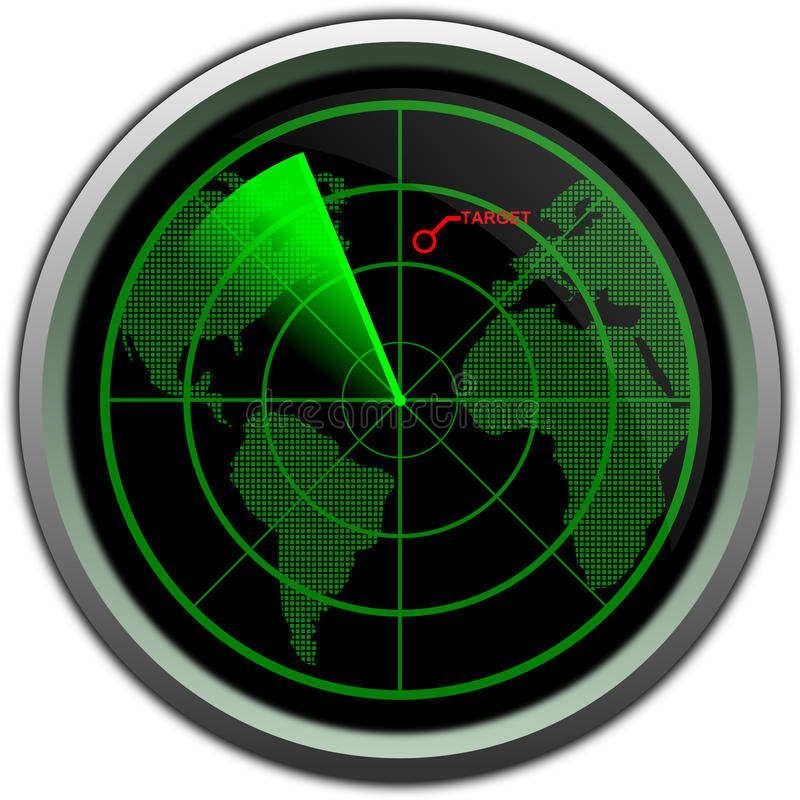 Download Military Radar Screen Stock Photography - Image: 28174552