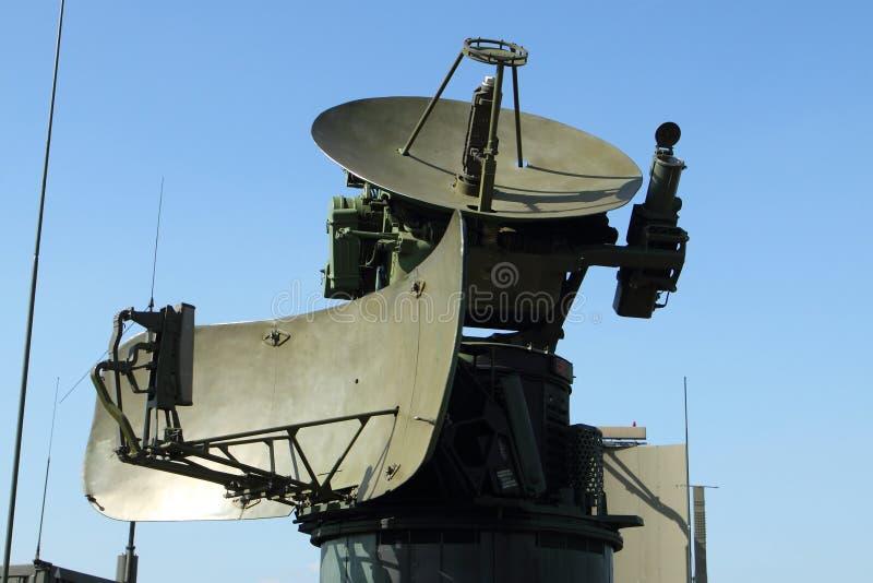 Military radar station royalty free stock photos