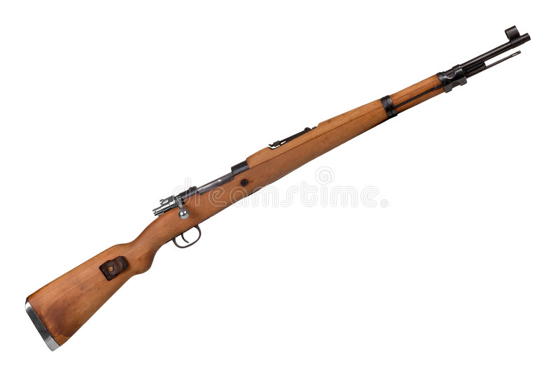 Military Rifle stock photography