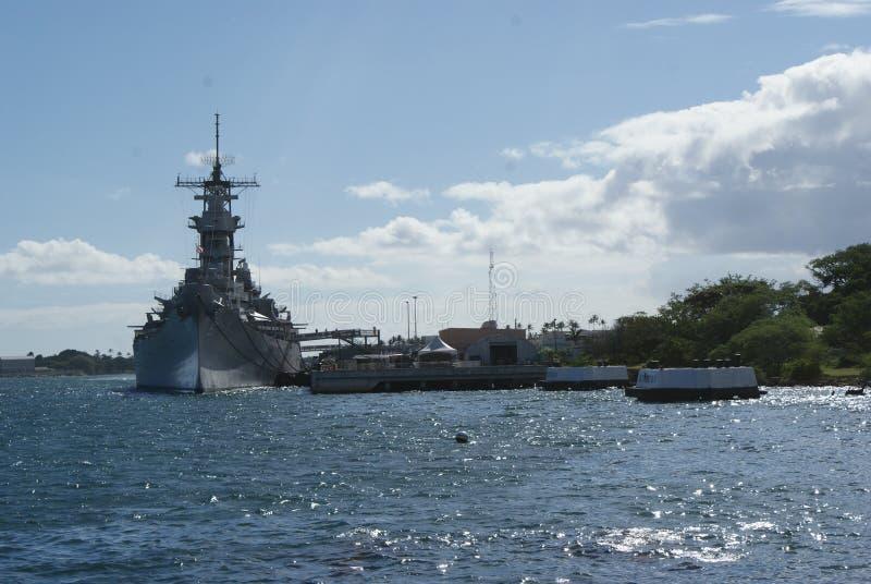 Military Ship Pearl Habor stock photography