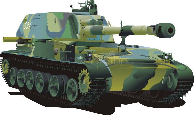 Military tank royalty free stock image