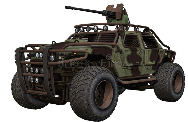 Download Military terrain car stock illustration. Image of vehicle - 29006192