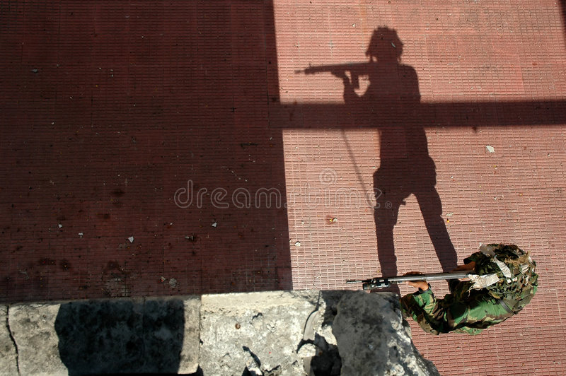 Military training combat royalty free stock image