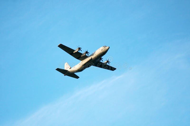 Download Military Transport Airplane (C-130) Stock Photography - Image: 16011872