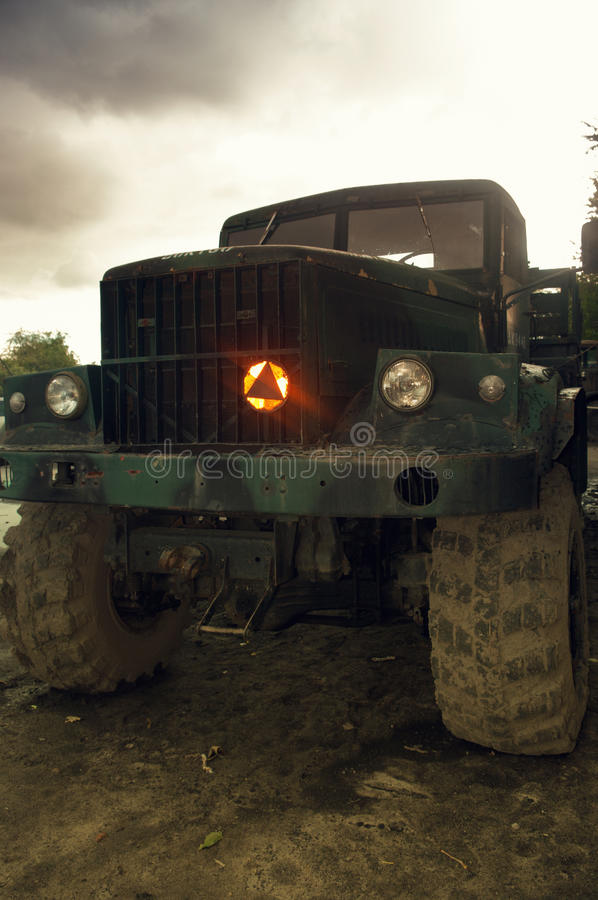 Download Military Truck. Royalty Free Stock Photo - Image: 26658865